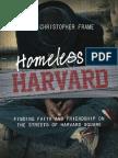 Homeless at Harvard (excerpt)