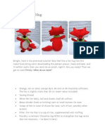 Fox and Raccoon Stuffie by Isnuffel