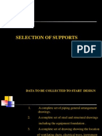 Selection of pipe support
