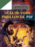 AD&D Reinos Olvidados ''Guía de Volo para los Valles''
