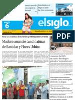 Edicion Eje Central Martes 06-08-2013