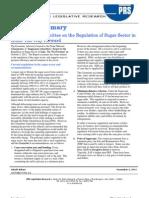 1351831763~~Summary -- Deregulation of Sugar Sector - Final