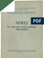 Nerej, un village d'une region archaique