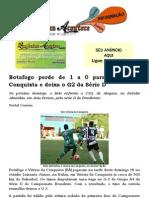 Botafogo perde de 1 a 0 para Vitória da Conquista e deixa o G2 da Série D