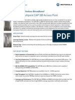 CAP 320_Specification Sheet