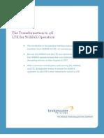 Bridgewater - The Transformation to 4G-LTE for WiMAX Operators 7Jun10