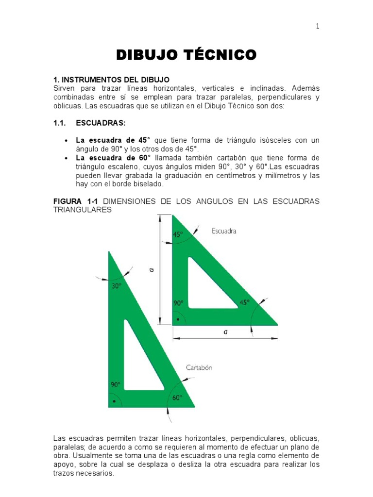 Fundamentos de Dibujo Tecnico