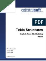 Manual 2 Tekla Structures - Detallado Acero - Dibujos