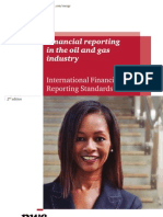 Financial Reporting in the Oil and Gas Industry