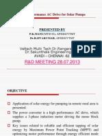 Mani r & d Meeting 28.07.2013