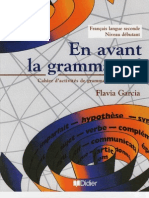 En Avant la Grammaire - Niveau Débutant - Didier