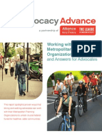 Working with Metropolitan Planning Organizations