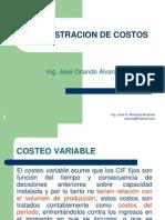 Adm. de Costos - Costeo Variable y Estado de Costos