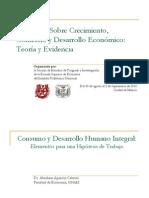 Consumo y DHI