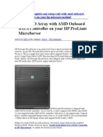 Array Server Proliant