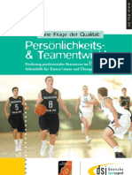 Eine Frage der Qualität - Persönlichkeits- & Teamentwicklung im Basketball