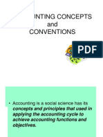 29ACCOUNTING Concepts Conventions
