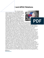 MKO and AIPAC Relations