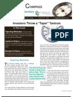2013Q3 - Pacifica Newsletter - Taper Tantrum