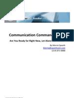 Communication Commandments