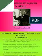 Caracteristicas de La Poesia de Alberti Patricia Echaniz