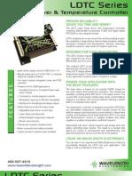 LDTCxx20 Series Laser and Temperature Controller Brochure