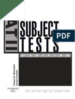 SAT II Subject Tests