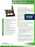 PLDxK-CH Series Chassis Mount Laser Diode Driver Brochure