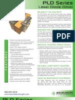 PLD Series Laser Diode Driver Brochure