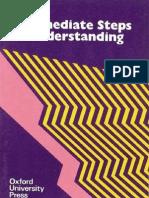 Intermediate Steps to Understanding