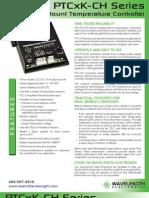 PTCxK-CH Series Temperature Controller Brochure