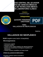 Modulo Citotecnologia Hallazgos No Neoplasicos