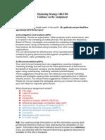 MKT306 Assignment Guidance 2012-13 Semester 2 (1)