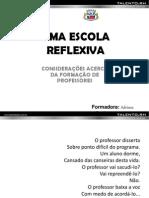 OFICINAS_CONSIDERAÇÕES UMA ESCOLA REFLEXIVA