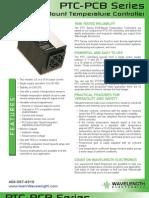 PTC PCB Series Temperature Controller Brochure