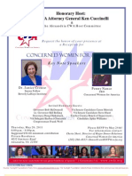 Reception for Concerned Women for America