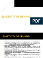 20515390 Elasticity of Demand