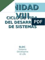 Cliclo de Vida Del Desarrollo de Un Sitema de Informacion