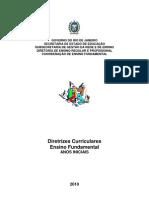 DIRETRIZES Curriculares -SEE-RJ. Anos Iniciais.hist.p.87-94