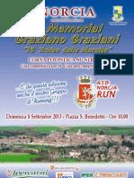 Volantino Trofeo delle Marcite 2013
