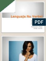 POWERPOINT - Lenguaje No Verbal