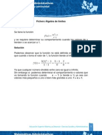 Algebra de Limites
