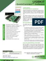 USBKIT Software Interface Brochure