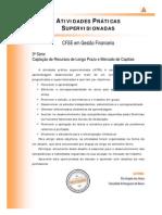 ATPS, Captação de Recursos de Longo Prazo e Mercado de Capitais