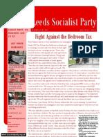 August 2013 Leeds SP Newsletter
