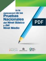 Manual I Pruebas Nacionales