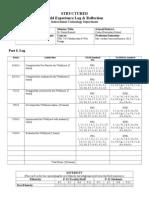 mancila- itec 7445 structured field experience log