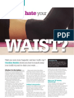 How to shape your waist