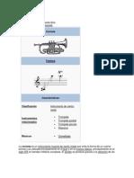 corneta instrumentacion
