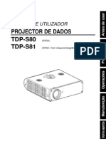 Projector TDP S80(PO)